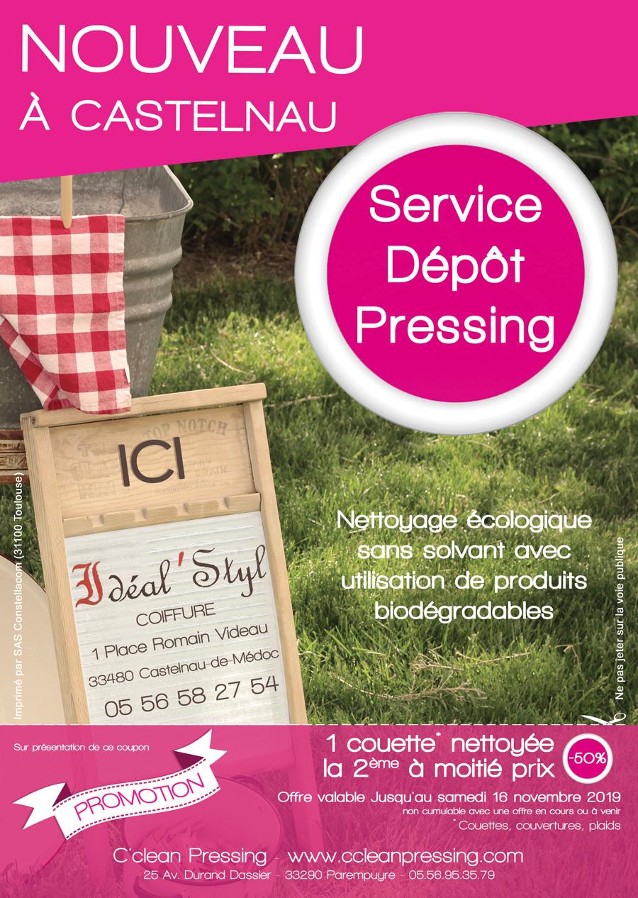depot castelnau article 2 - Nouveau ! Dépôt de pressing à Catelnau-de-Médoc